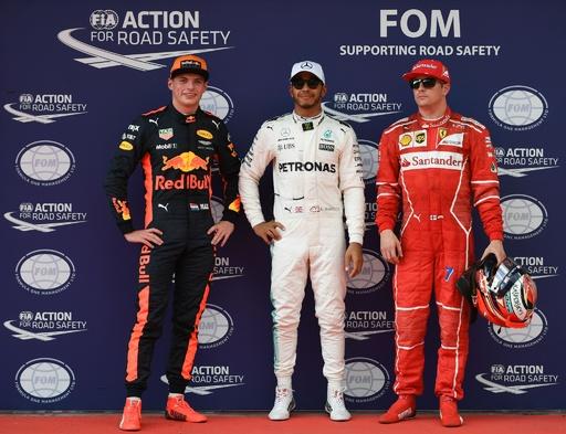 ハミルトンがマレーシアGPのポール獲得、ベッテルは最後尾スタート