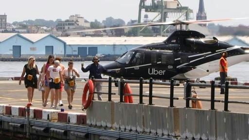 動画:ウーバー、空の移動サービス開始 米NY