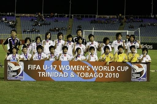 日本、PK戦で韓国に敗れ準優勝 U-17女子W杯