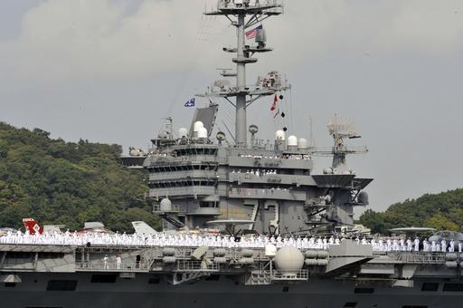 米原子力空母ジョージ・ワシントン、横須賀に入港