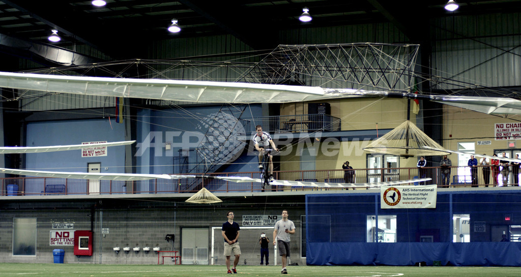 シコルスキー人力ヘリコプター賞を初受賞、加トロント大チーム