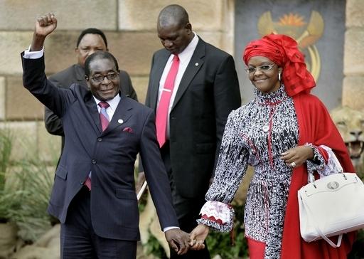 ジンバブエ大統領夫人、ウィキリークス電文報じた新聞社を提訴