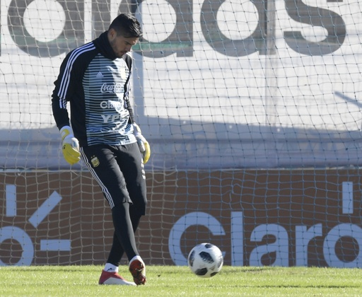 アルゼンチン代表に痛手、守護神ロメロが膝負傷でW杯欠場