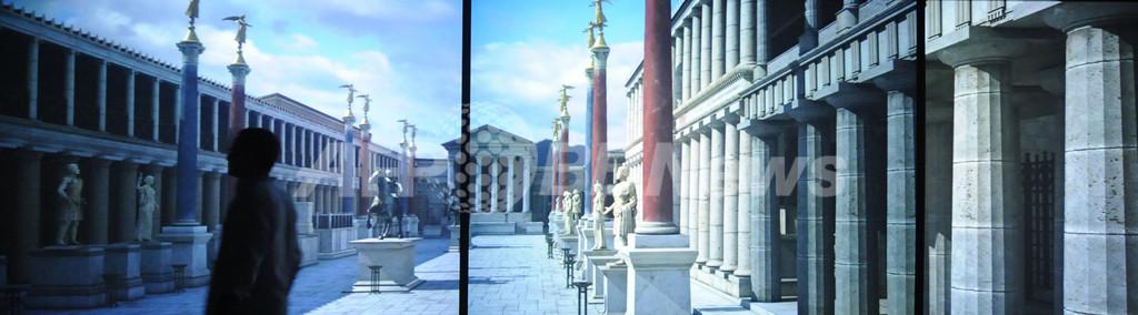 大噴火で滅んだ古代ローマ都市、3Dでよみがえる