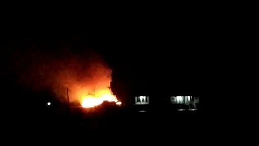 動画:インドネシアでフェリー火災、乗客7人死亡 燃料タンク爆発か