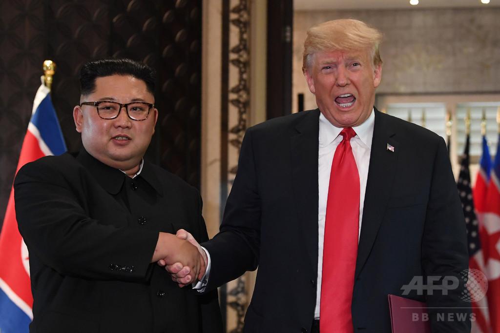 トランプ氏、北朝鮮は非核化に「非常に真剣」