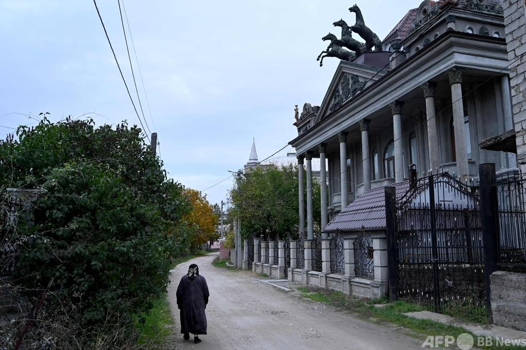 モルドバのロマの邸宅 名声と成功の名残