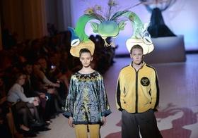 ユニークな作品にも注目、ウクライナでファッションウィーク