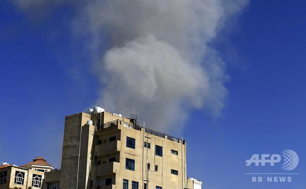 サウジ連合軍がイエメンで空爆、送油管攻撃命じたのはイランと名指し