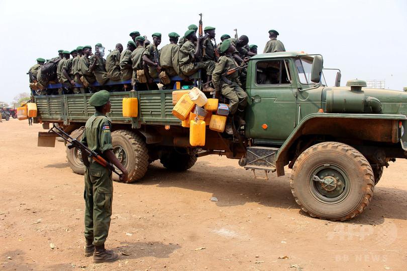 南スーダン、民兵に報酬として「女性のレイプ」許す 国連報告書