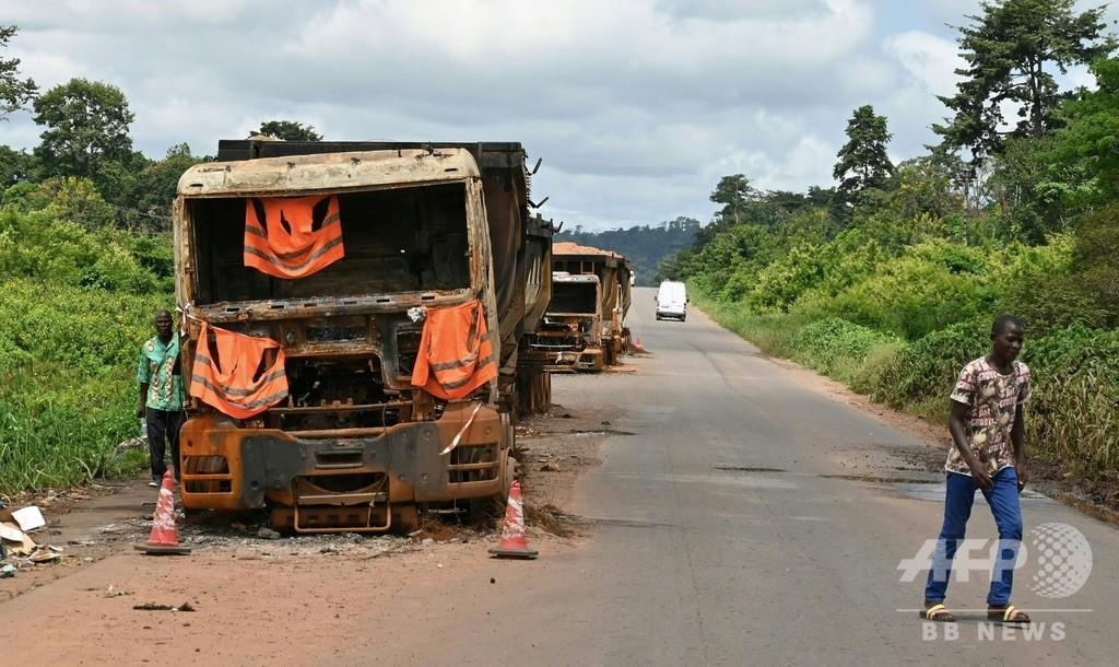 大統領選前に民族間の衝突相次ぐ、7人死亡40人負傷 コートジボワール