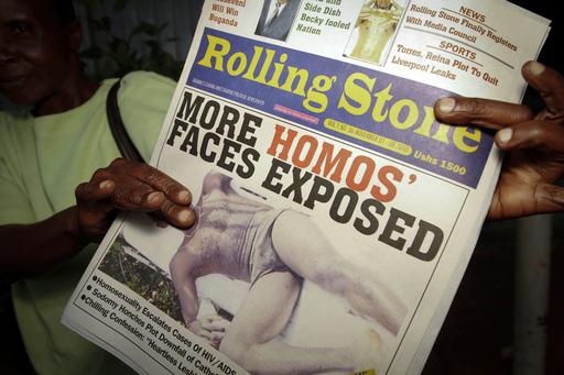 ウガンダの同性愛活動家、殺害される 大衆紙の扇動が関係か