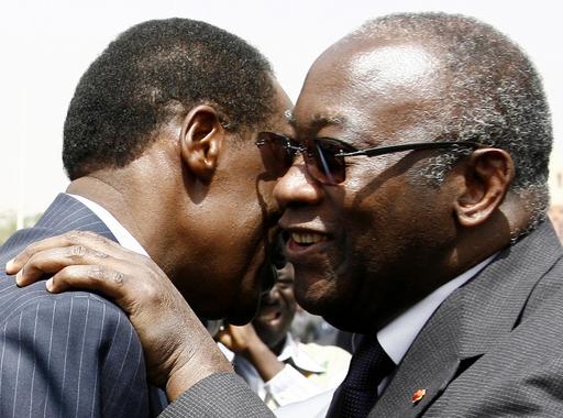 コートジボワール大統領が訪問、和平交渉を再開 - ブルキナファソ