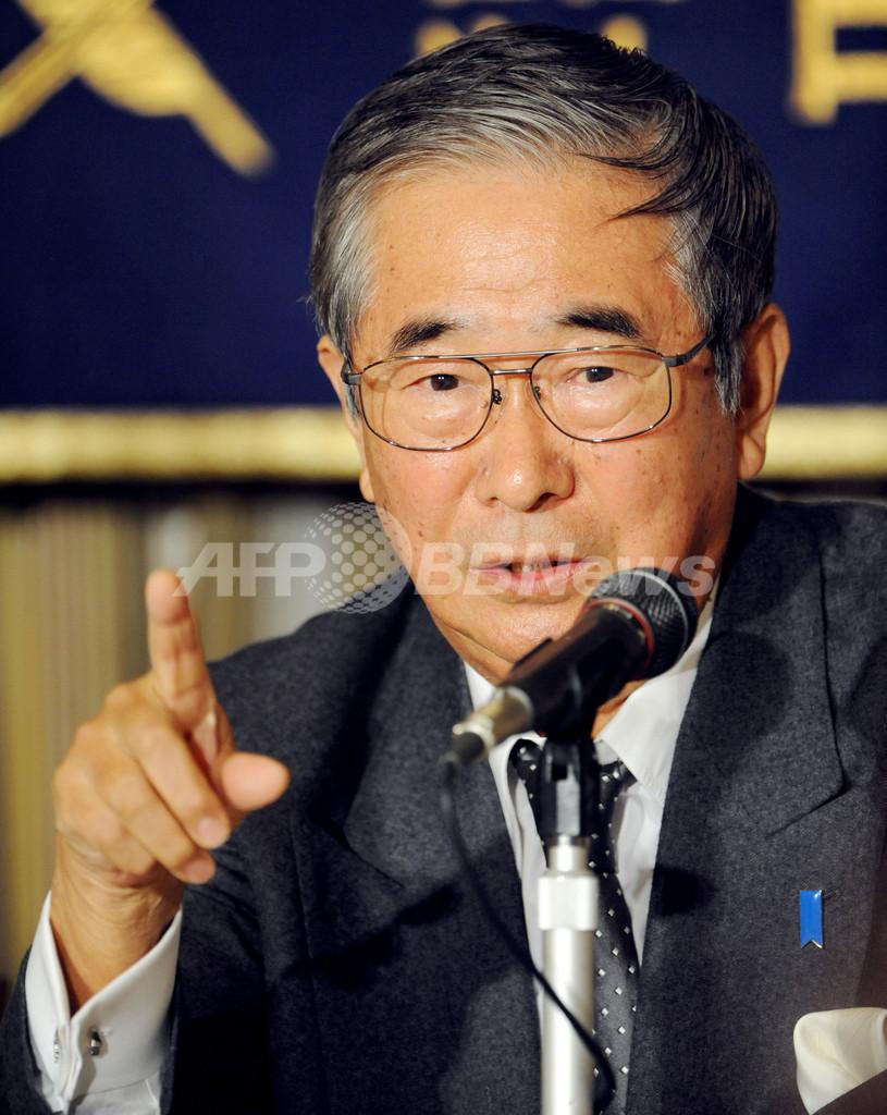 石原都知事、「中国が北朝鮮を合併するのが一番楽」