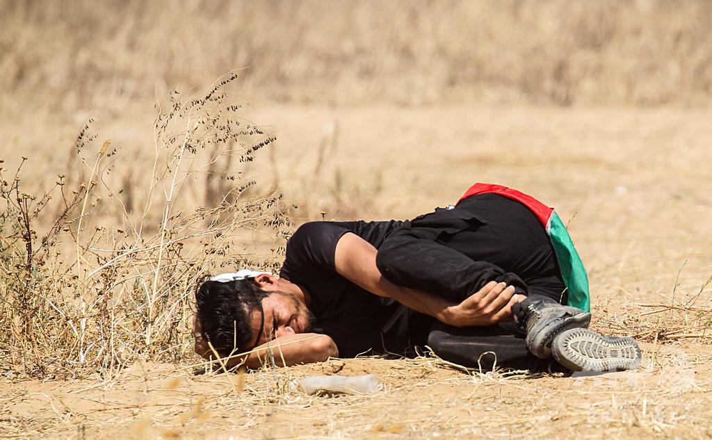 イスラエル建国に伴う「大災厄」の日、パレスチナ人が各地で抗議デモ