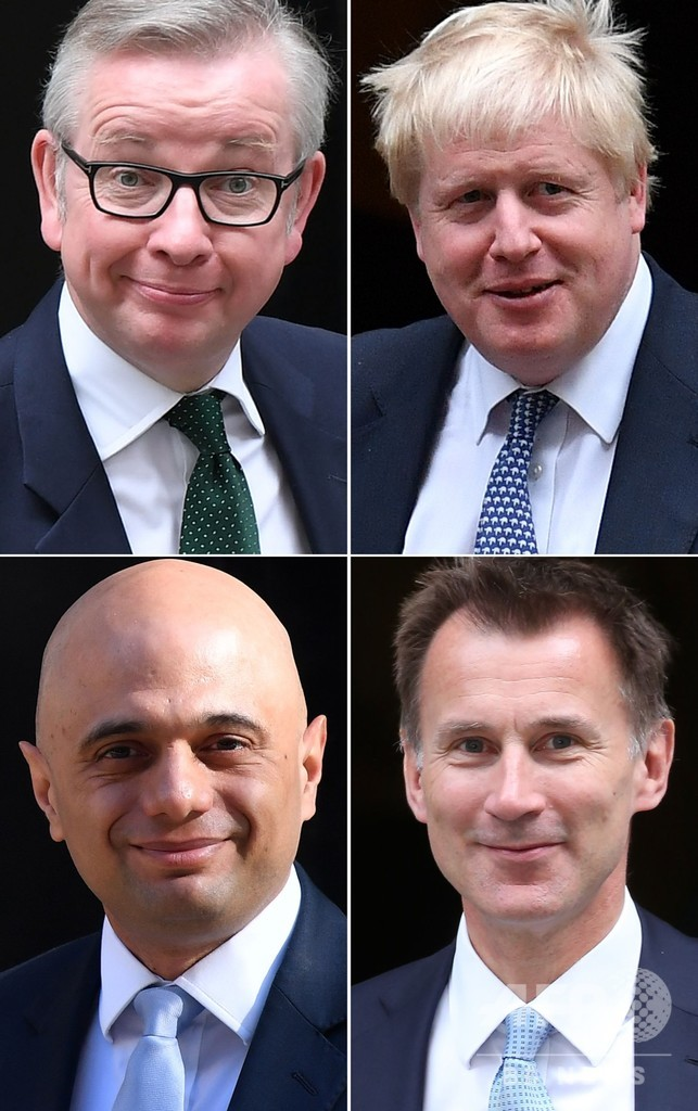 次期英首相争い、スチュワート氏脱落 ジョンソン氏リード拡大