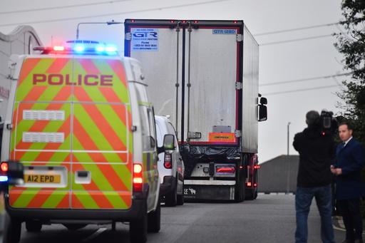 英トラック遺体事件、39人全員がベトナム国籍 警察発表