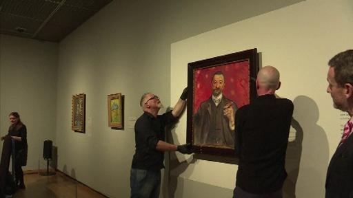 動画:ムンクが描いた貴重な肖像画を公開、ゴッホ美術館