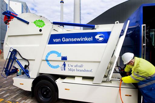 これぞ究極のエコ!ゴミで走るゴミ収集車、オランダ