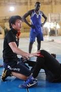 目指すは東京五輪、スーダンでレスリング指導する日本人コーチ