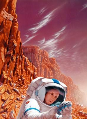 火星への「偉大な飛躍」、民間企業の協力が不可欠 米大統領
