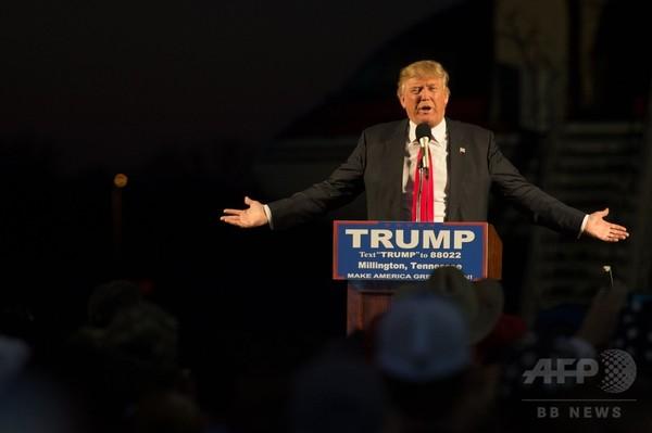 「共和党団結させる」=11月の本選見据え-トランプ氏-米大統領選