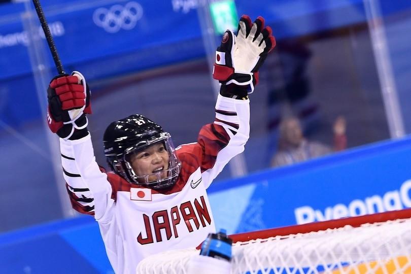 アイスホッケー女子日本が五輪初勝利、南北合同チームは3連敗
