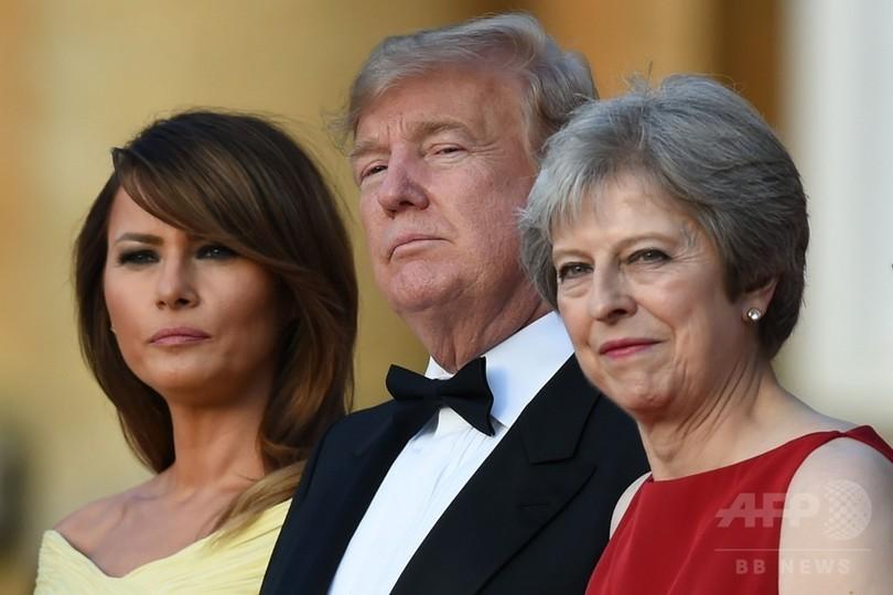 英首相のEU離脱方針は「米英FTAの可能性を潰す」、トランプ氏