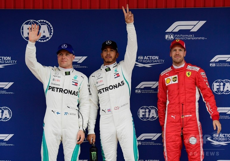 ハミルトンが開幕戦以来のポールポジション獲得、バルセロナGP