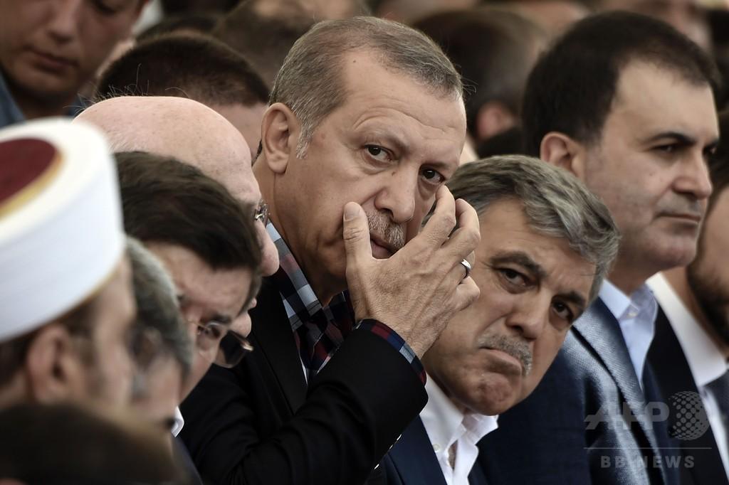 トルコ、死刑復活を検討へ クーデター未遂受け大統領が表明