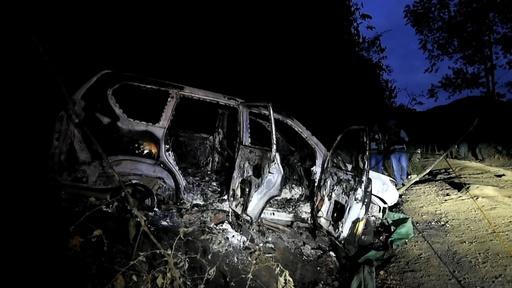 動画:コロンビア、政治家の車両襲撃され6人死亡 FARC離脱した地元グループの犯行か