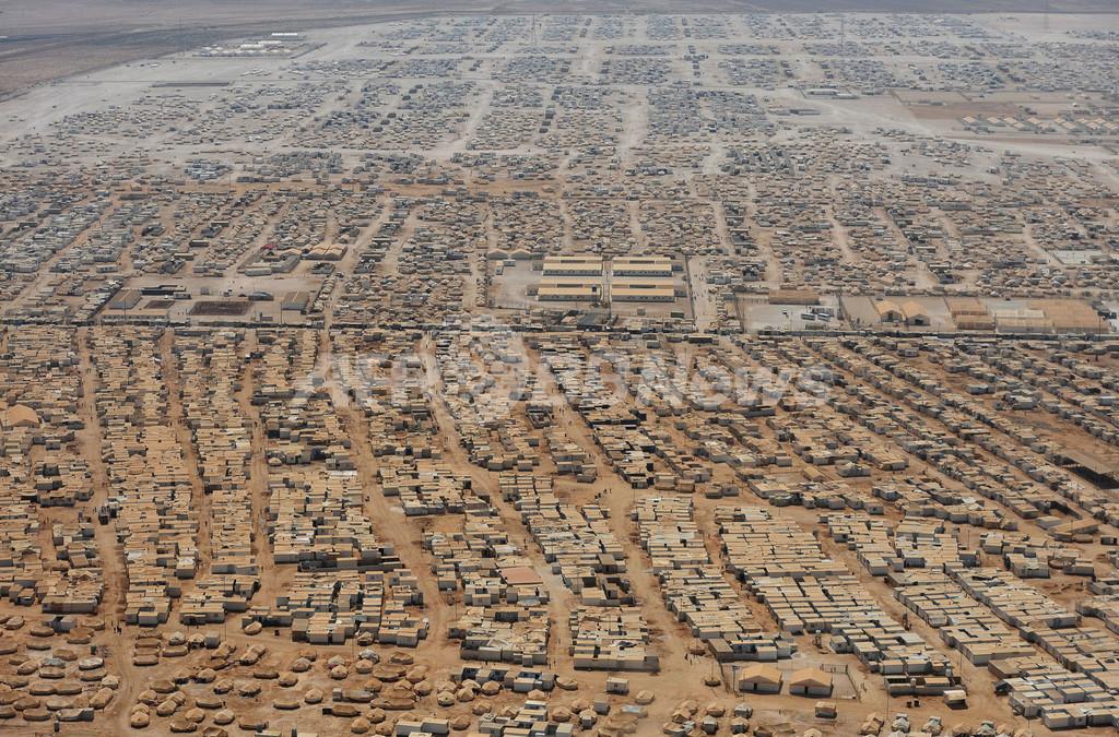 「都市化」するシリア難民キャンプ、国連への電気代請求は月5000万円