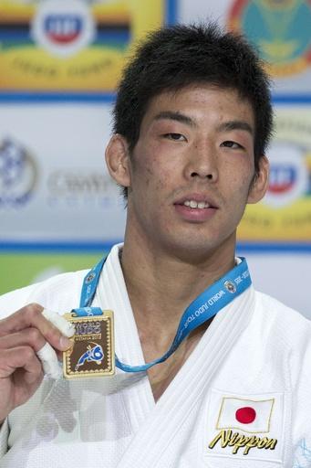 永瀬が男子81キロ級で金メダル、世界柔道