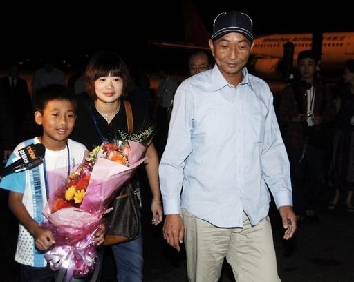 釈放の船長帰国、中国政府は謝罪と賠償を求める