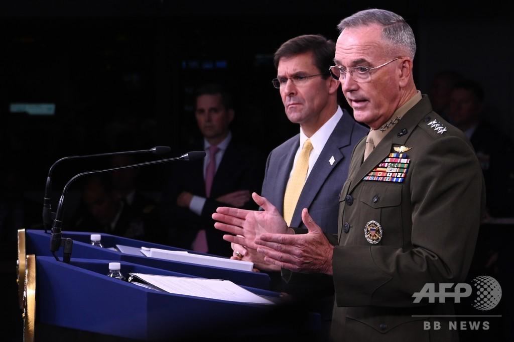 米国防長官、日韓対立エスカレートに「大変失望」 関係改善促す
