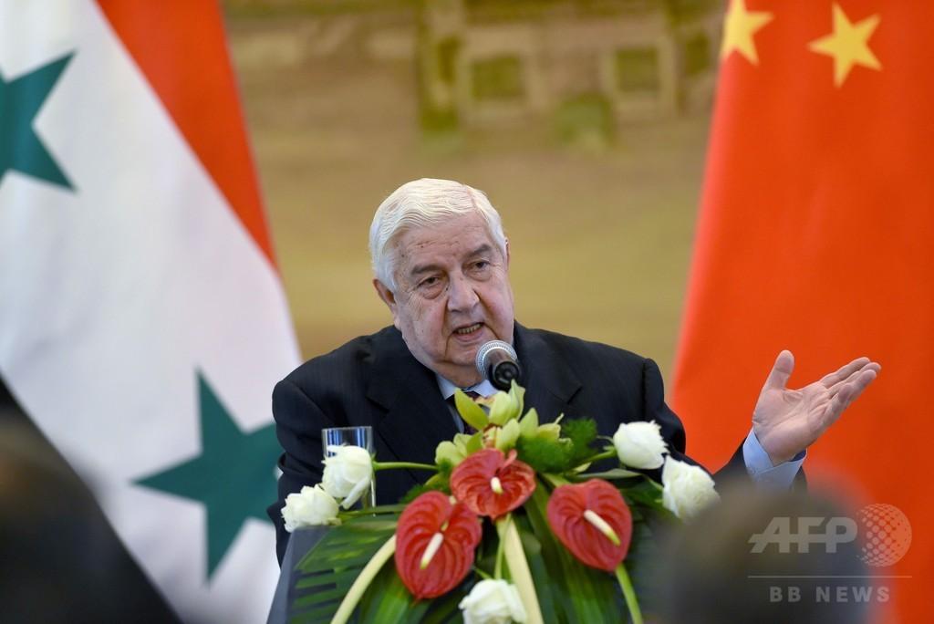 アサド政権、和平協議に参加へ 外相が表明