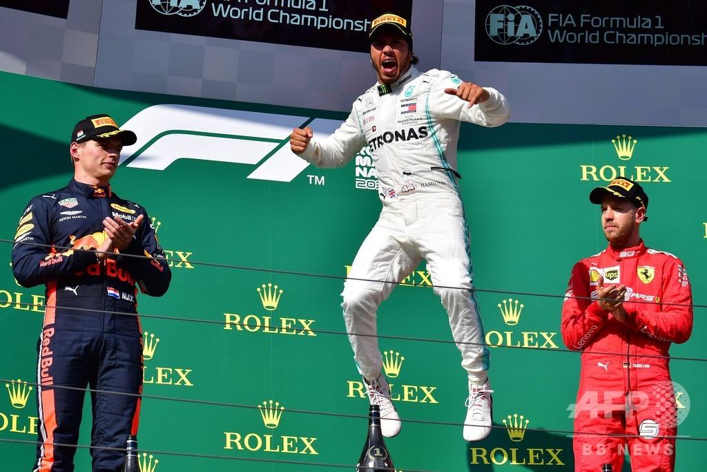 ハミルトンが逆転V、フェルスタッペンに戦略勝ち ハンガリーGP