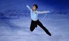 羽生ら出場選手がエキシビションに登場、フィギュアスケート世界選手権