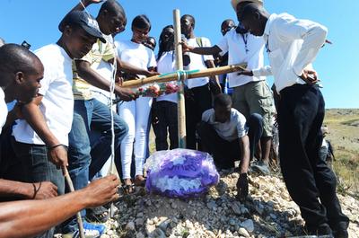 ハイチ大地震から2年、進まぬ復興 50万人がテント暮らし