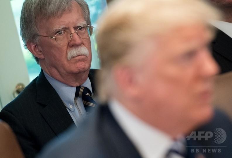 北朝鮮、タカ派の米大統領補佐官ボルトン氏に激怒