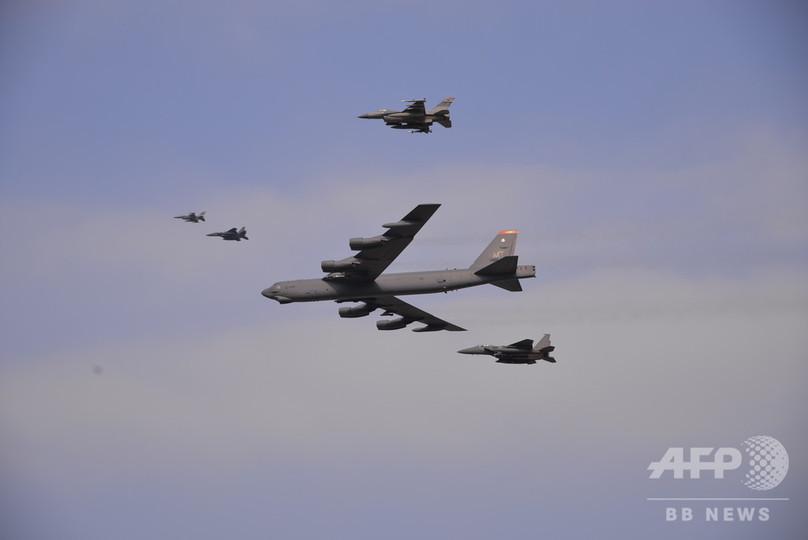 米軍、朝鮮半島に爆撃機飛来させず 韓国の要請で