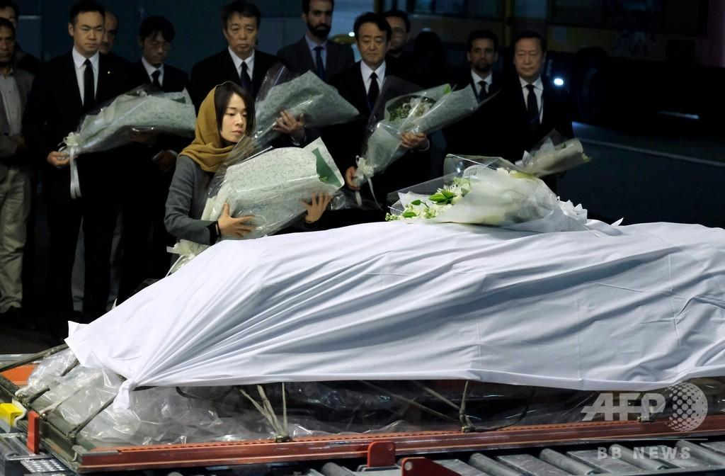 中村哲さんの遺体、成田空港に到着 9日に福岡へ