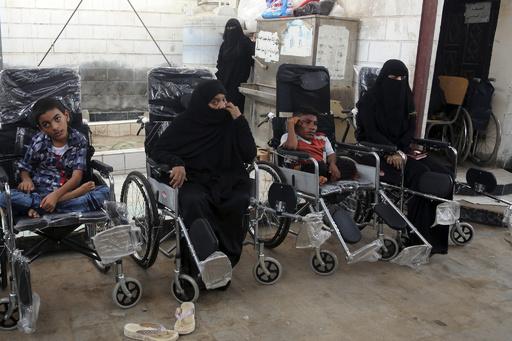 イエメン内戦、障害者450万人に大打撃 「国際障害者デー」アムネスティ報告