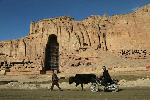 バーミヤンの遺跡、気候変動で崩壊の危機 アフガニスタン