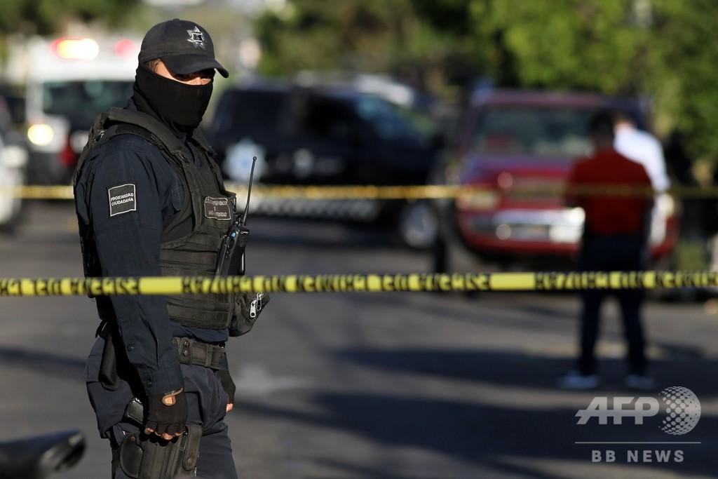 メキシコ、19人の他殺体発見 麻薬組織間の縄張り争いか