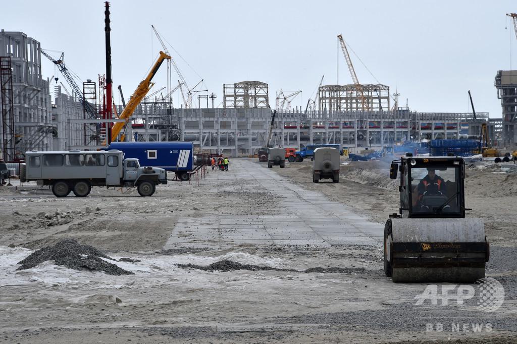 北極圏の建設現場がホットスポットに、作業員1千人超がコロナ陽性 ロシア