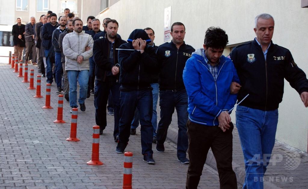 トルコ、新たに警官9000人超を停職 昨年のクーデター未遂絡みで