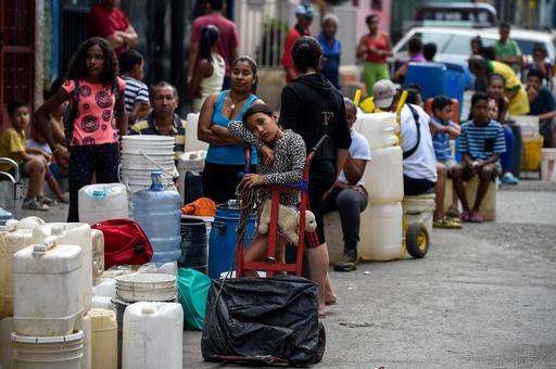 大規模停電のベネズエラで今度は断水、数百万人に影響