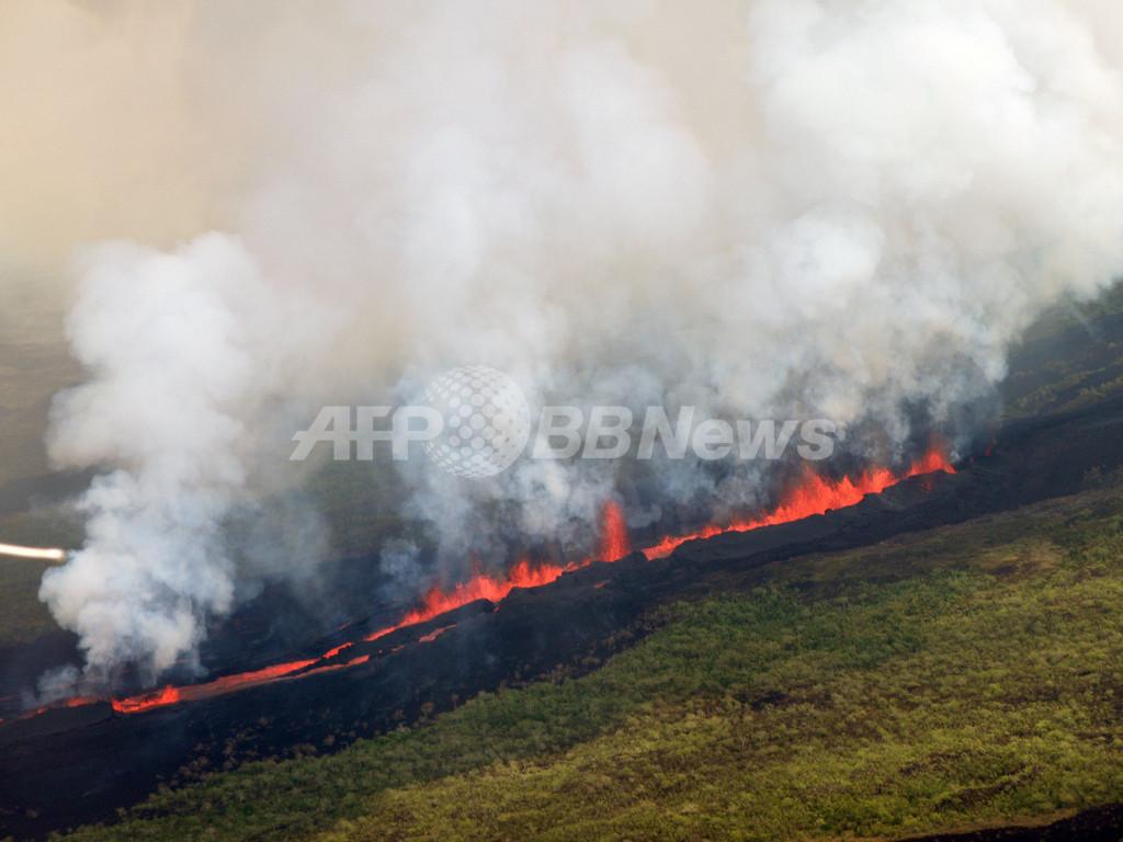 ガラパゴス諸島で噴火、生態系に影響も