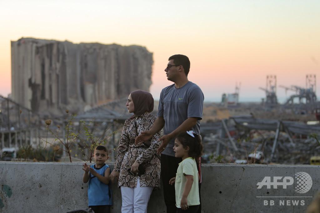 レバノン、大爆発前から国民の半数以上が貧困 国連調査